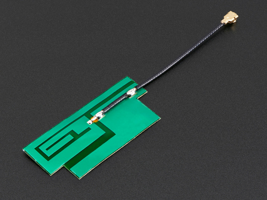 Adafruit Slim Sticker-type GSM/Cellular Quad-Band Antenna - 3dBi uFL - 3DMakerWorld, Inc.
