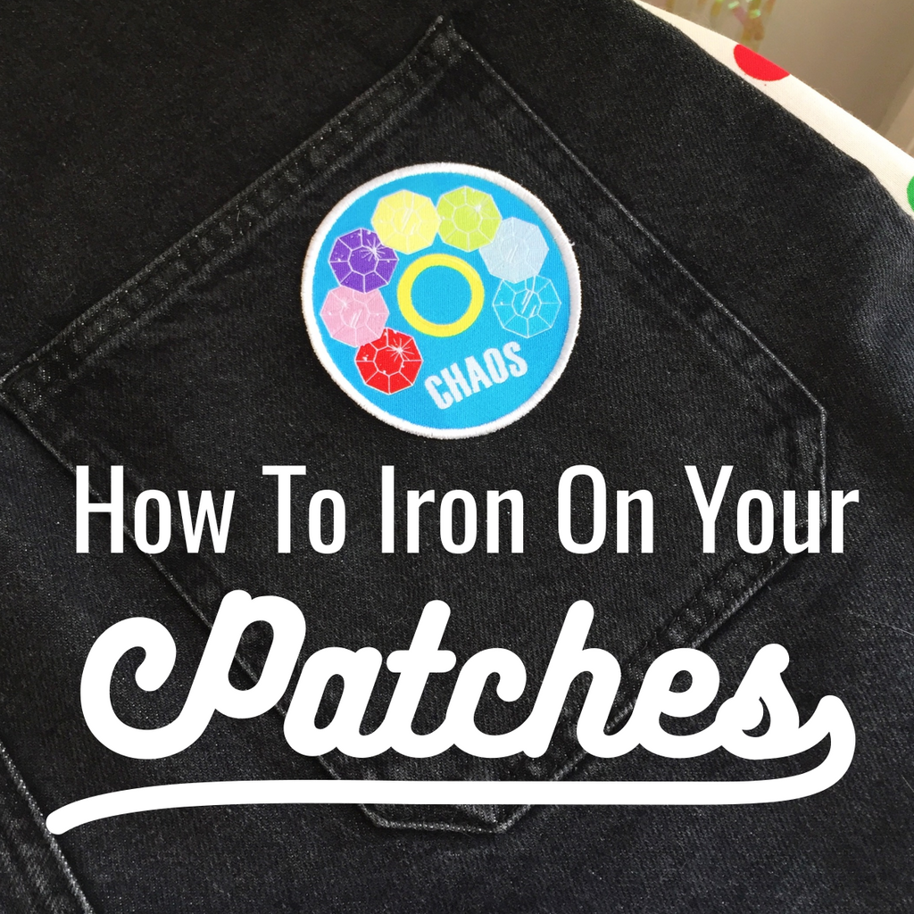 How To Apply Your Iron On Patches