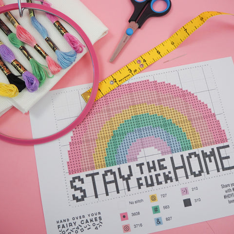 What you need to start cross stitching