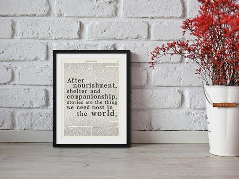 Philip Pullman Quotation - Wall Art