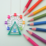 Ferris Wheel Necklace - Hand Over Your Fairy Cakes - hoyfc.com