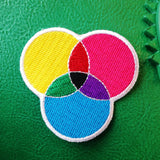 CMYK Patch - Hand Over Your Fairy Cakes - hoyfc.com