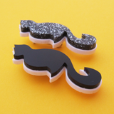 Cat Brooch - Hand Over Your Fairy Cakes - hoyfc.com