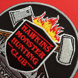 """Hawkins Monster Hunting Club"" Stranger Things Patch - Hand Over Your Fairy Cakes - hoyfc.com"