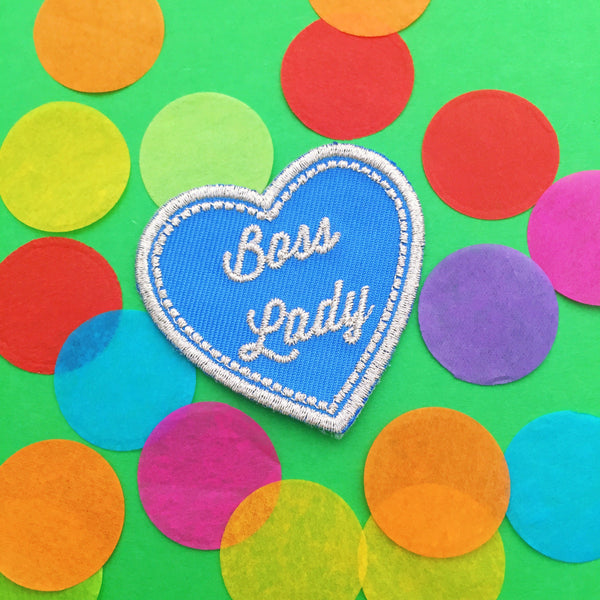 Boss Lady Patch - Hand Over Your Fairy Cakes - hoyfc.com