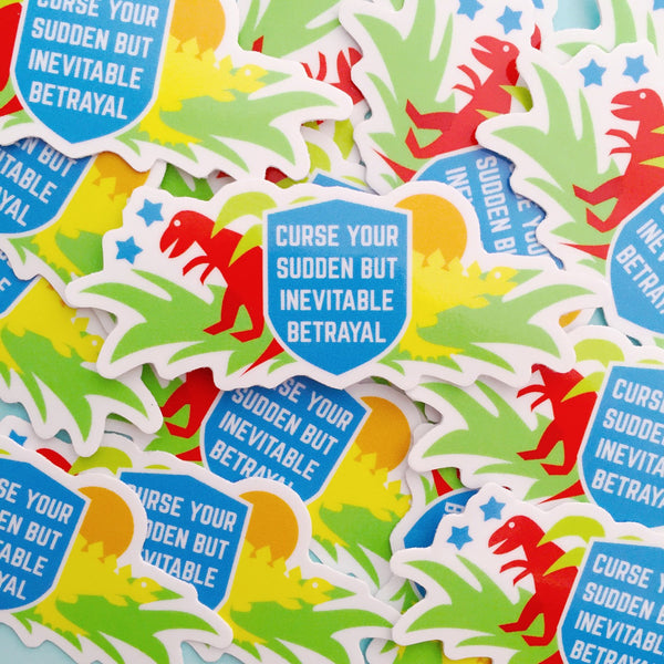 Curse Your Sudden But Inevitable Betrayal Vinyl Sticker