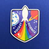 Rainbow Rocket Vinyl Stickers - Hand Over Your Fairy Cakes - hoyfc.com