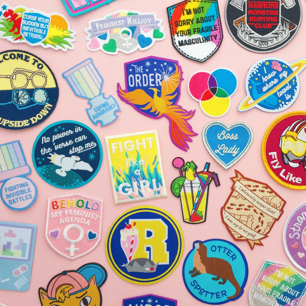 Seconds Sale - Patches - Hand Over Your Fairy Cakes - hoyfc.com