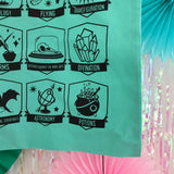 Pastel Wizard Class Screen Printed Tote Bag - Hand Over Your Fairy Cakes - hoyfc.com