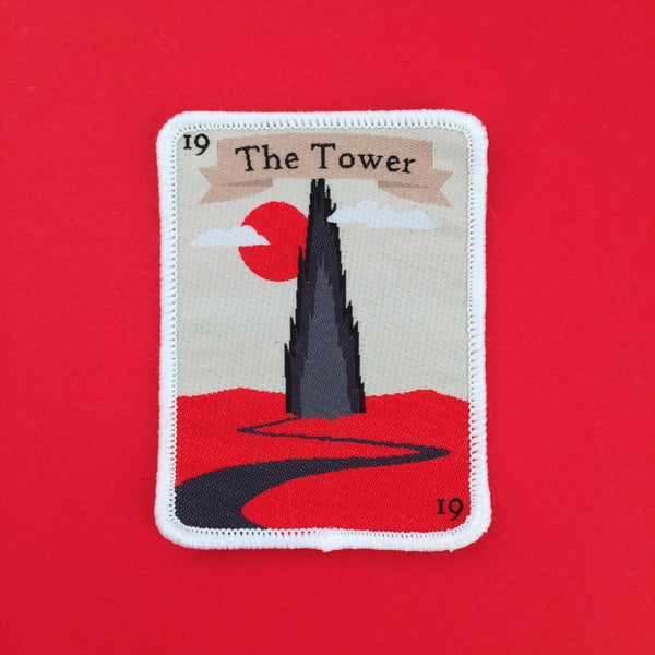 The Dark Tower Tarot Card Patch - Hand Over Your Fairy Cakes - hoyfc.com