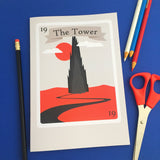 The Dark Tower Tarot Card Notebook - Hand Over Your Fairy Cakes - hoyfc.com