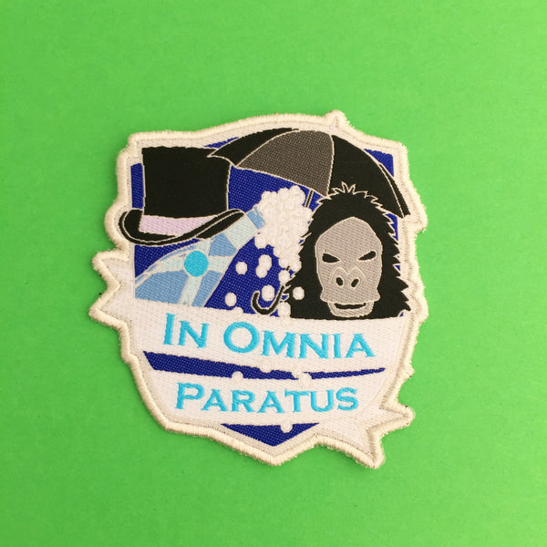 In Omnia Paratus - The Life and Death Brigade Patch - Hand Over Your Fairy Cakes - hoyfc.com
