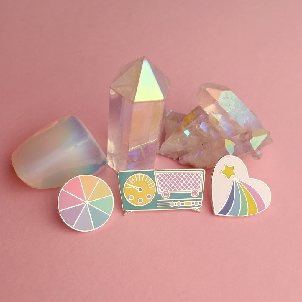 Pastel Pin Set - Hand Over Your Fairy Cakes - hoyfc.com