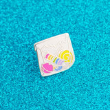 10p Mix Up - Enamel Pin - Hand Over Your Fairy Cakes - hoyfc.com
