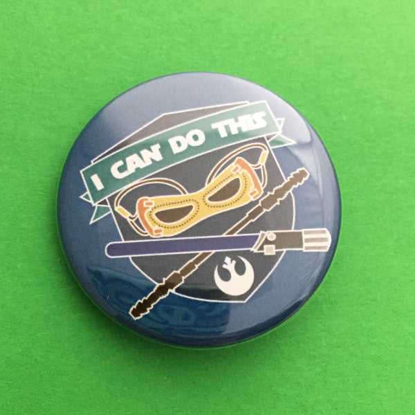I Can Do This Button Badge - Hand Over Your Fairy Cakes - hoyfc.com