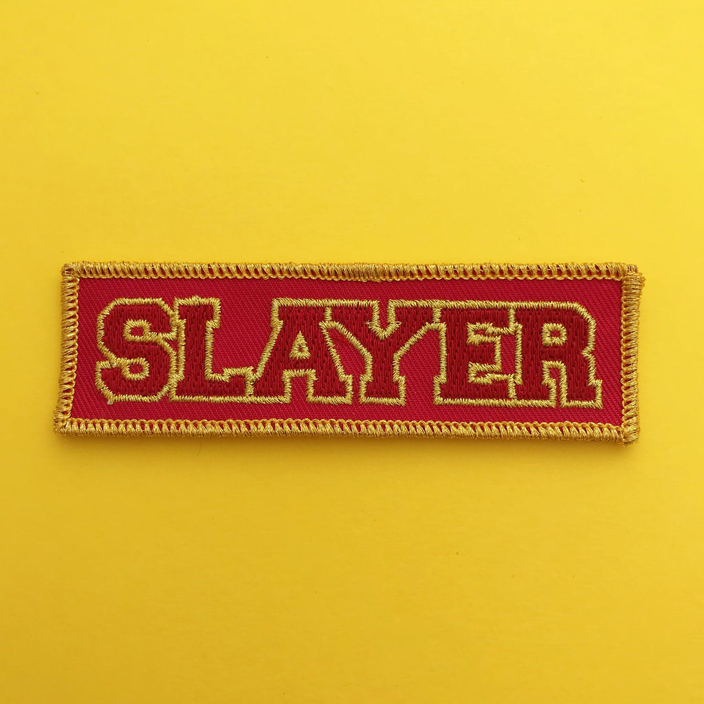 Sunnydale Slayer Patch - Hand Over Your Fairy Cakes - hoyfc.com