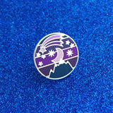 Night Sky - Enamel Pin - Hand Over Your Fairy Cakes - hoyfc.com