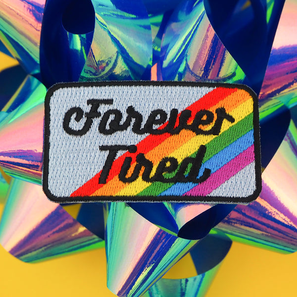 Forever Tired Patch - Hand Over Your Fairy Cakes - hoyfc.com