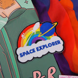 Space Explorer Rainbow Rocket Patch - Hand Over Your Fairy Cakes - hoyfc.com