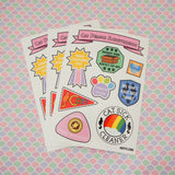 Cat Person Achievement Sticker Sheet - Hand Over Your Fairy Cakes - hoyfc.com