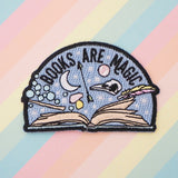 Books Are Magic  - Iron on Patch