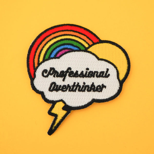 Professional Overthinker Patch - Hand Over Your Fairy Cakes - hoyfc.com