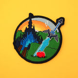 Adventurer Patch - Hand Over Your Fairy Cakes - hoyfc.com