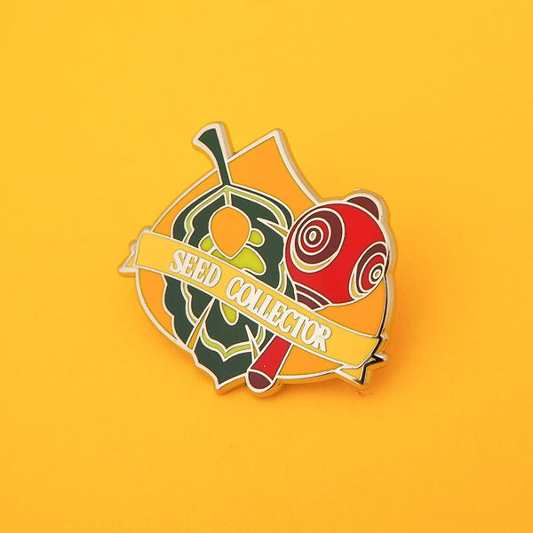 Seed Collector - Enamel Pin