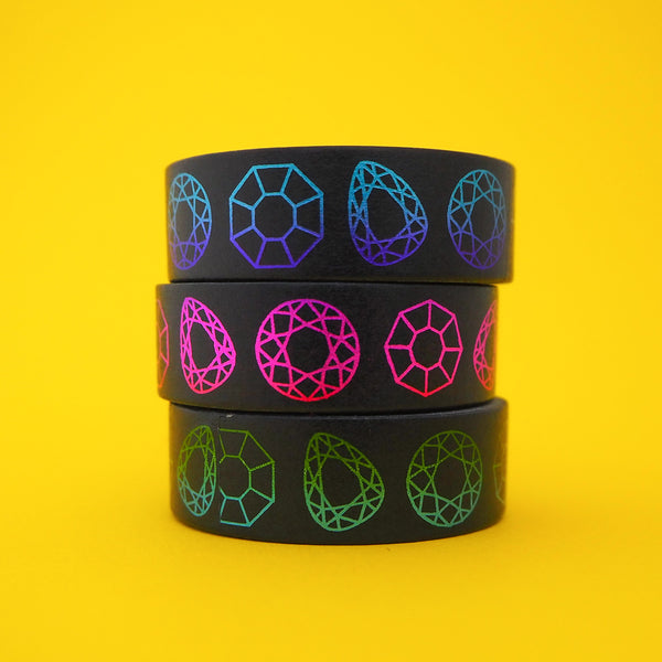 Gem Stone Washi Tape - Hand Over Your Fairy Cakes - hoyfc.com