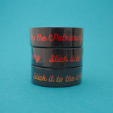 Stick it to the Patriarchy Washi Tape - Hand Over Your Fairy Cakes - hoyfc.com