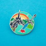 Adventurer - Enamel Pin - Hand Over Your Fairy Cakes - hoyfc.com