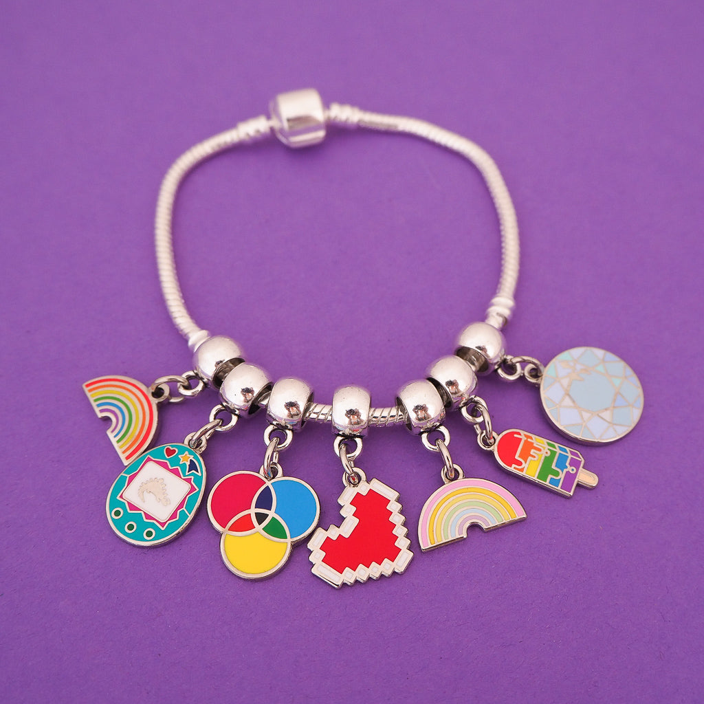 Charm Bracelets - Hand Over Your Fairy Cakes - hoyfc.com