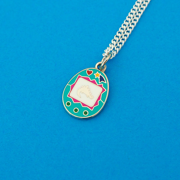 Virtual Pet Charm Necklace - Hand Over Your Fairy Cakes - hoyfc.com