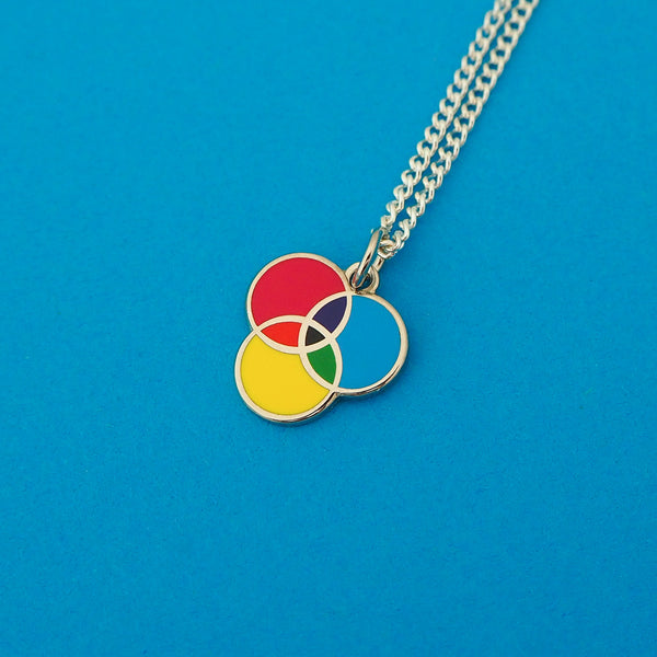 CMYK Charm Necklace - Hand Over Your Fairy Cakes - hoyfc.com