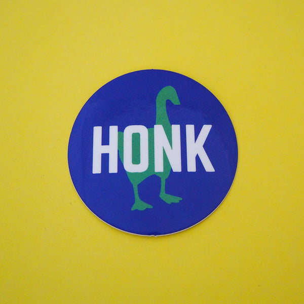 HONK Goose Vinyl Sticker - Hand Over Your Fairy Cakes - hoyfc.com
