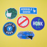 HONK HONK HONK Vinyl Sticker - Hand Over Your Fairy Cakes - hoyfc.com