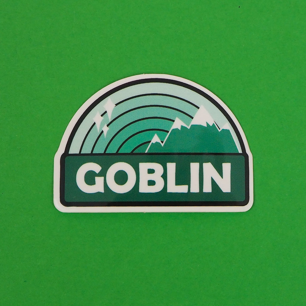 Goblin - Vinyl Stickers - Hand Over Your Fairy Cakes - hoyfc.com