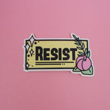 Resist - Vinyl Sticker - Hand Over Your Fairy Cakes - hoyfc.com