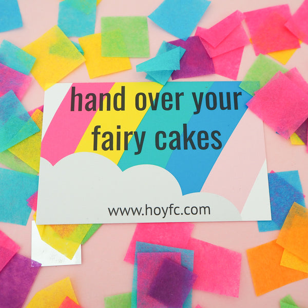 Gift Card - Hand Over Your Fairy Cakes - hoyfc.com