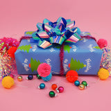 Festive As Fuck Wrapping Paper - Hand Over Your Fairy Cakes - hoyfc.com