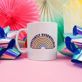 Constantly Overwhelmed Mug - Hand Over Your Fairy Cakes - hoyfc.com