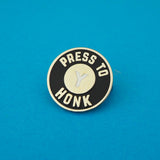 Press Y to Honk Enamel Pin - Hand Over Your Fairy Cakes - hoyfc.com