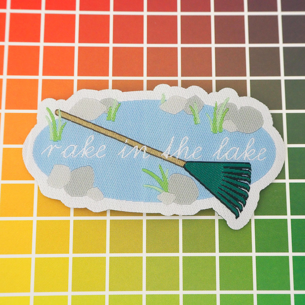 Rake In The Lake Patch - Hand Over Your Fairy Cakes - hoyfc.com