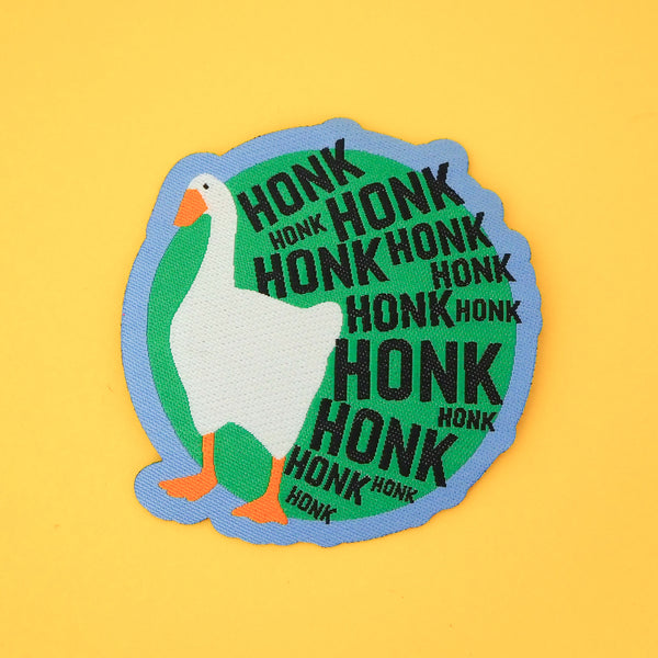 HONK HONK HONK Patch - Hand Over Your Fairy Cakes - hoyfc.com