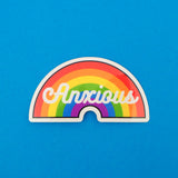 Anxious Vinyl Sticker - Hand Over Your Fairy Cakes - hoyfc.com