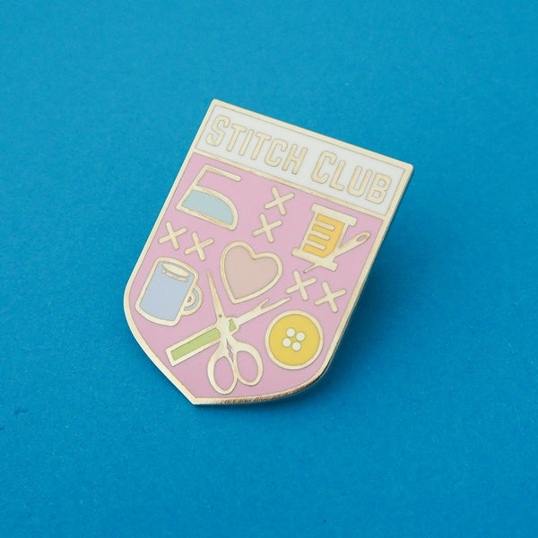 Pastel Stitch Club - Enamel Pin - Hand Over Your Fairy Cakes - hoyfc.com