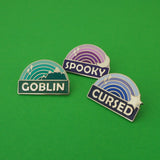 Goblin - Enamel Pin - Hand Over Your Fairy Cakes - hoyfc.com