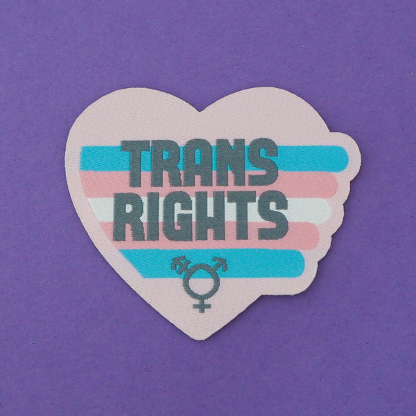 Trans Rights - Patch - Hand Over Your Fairy Cakes - hoyfc.com