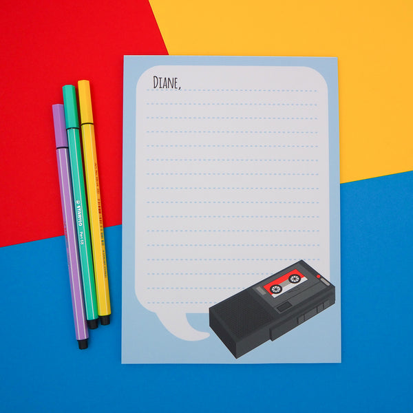 Dale Cooper Twin Peaks A5 Notepad - Hand Over Your Fairy Cakes - hoyfc.com