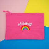 """Shitebag"" Zip Pouch Bag - Hand Over Your Fairy Cakes - hoyfc.com"